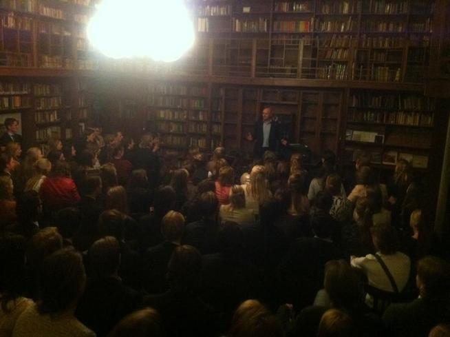 Lecture on morality of freedom in new york