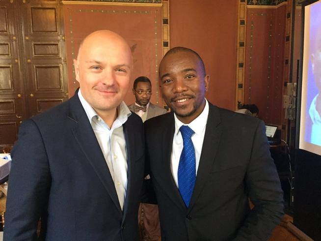 Speech at awardceremony for mmusi maimane